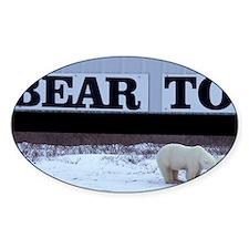 Churchill. Polar bear mother and cu Decal