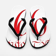the_people_99_red Flip Flops