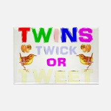 Funny halloween twins Rectangle Magnet