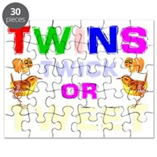 Funny halloween twins Puzzle