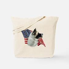 Akita Flag Tote Bag