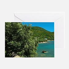 Albania, Vlora, Okrum bay Greeting Card