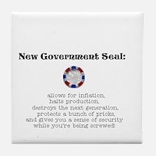 New US Seal Tile Coaster