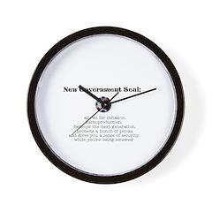 New US Seal Wall Clock