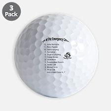 Pet ER Cropped Golf Ball