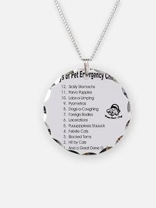 Pet ER Cropped Necklace