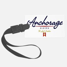 Anchorage Script W Luggage Tag