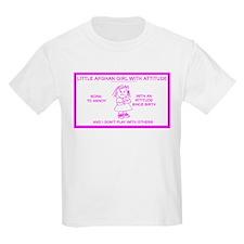 LITTLE AFGHAN GIRL Kids T-Shirt