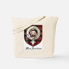 MacFarlane Clan Crest Tartan Tote Bag