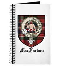 MacFarlane Clan Crest Tartan Journal
