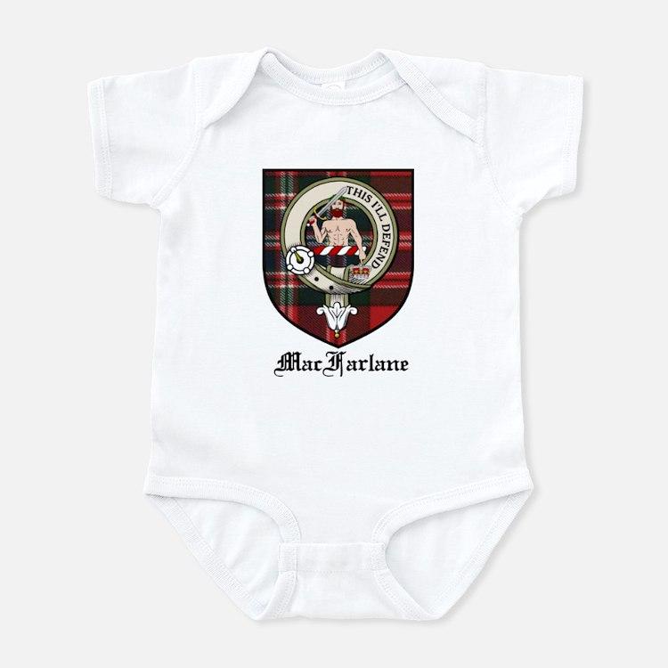 MacFarlane Clan Crest Tartan Infant Bodysuit