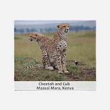 Cheetah-Cub Throw Blanket