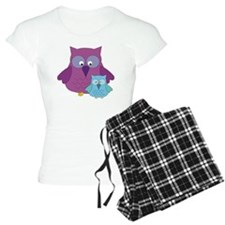 Mother Owl and Baby Boy Pajamas