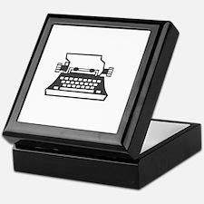 2000x2000oldtypewriter3clear Keepsake Box
