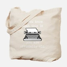 2000x2000oldtypewriter3clear Tote Bag