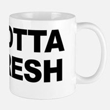 YaGottaBeFresh_Blk Mug