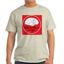 braintrustred copy Light T-Shirt