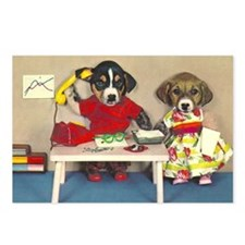 Dogs in the Office Postcards (Package of 8)