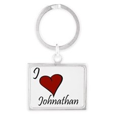 Johnathan.gif Landscape Keychain