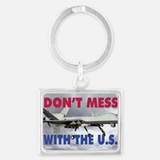 Mil 11A  MG-S Reaper Dont mess  Landscape Keychain