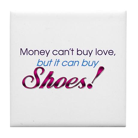 Money & Shoes Tile Coaster
