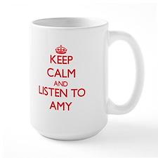 Keep Calm and listen to Amy Mugs