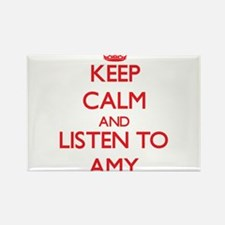 Keep Calm and listen to Amy Magnets