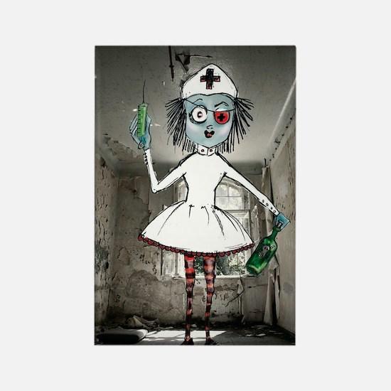 Nurse_one Rectangle Magnet