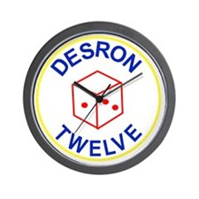 DESRON 12 US NAVY Destroyer Squadron Mi Wall Clock