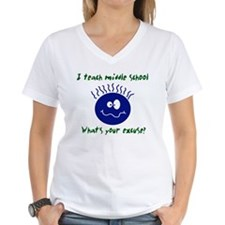 middle school teacher excuse Shirt