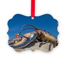 Largest lobster in the world scul Ornament