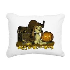 Pirate Puppy2 Rectangular Canvas Pillow