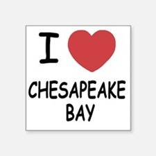 "CHESAPEAKEBAY Square Sticker 3"" x 3"""