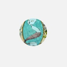 mermaid3 Mini Button