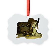 Pirate Puppy 3 Ornament