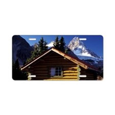 British Columbia. Mt. Assin Aluminum License Plate