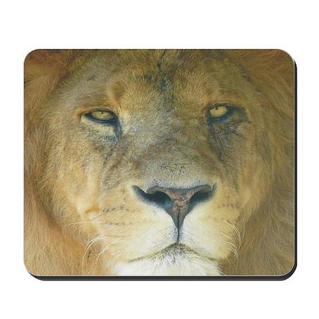 Lion square Mousepad
