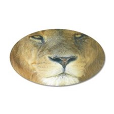 Lion Lposter Wall Decal