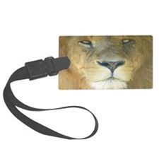 Lion Lposter Luggage Tag