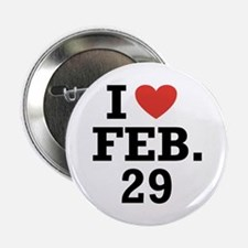 "I Heart February 29 2.25"" Button (100 pack)"