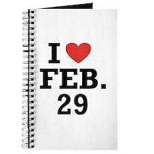 I Heart February 29 Journal