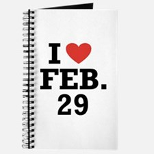 I Heart February 29 Journal