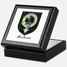 MacInnes Clan Crest Tartan Keepsake Box