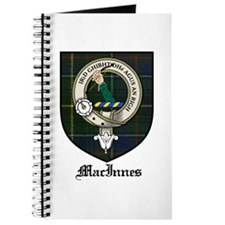 MacInnes Clan Crest Tartan Journal