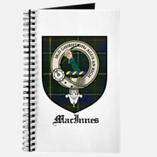 MacInnes Clan Crest Tartan Journal