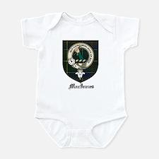 MacInnes Clan Crest Tartan Infant Bodysuit