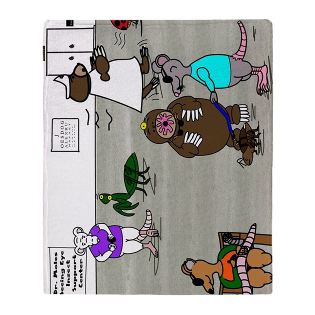 three blind mice coloring page - 3 blind mice throw blanket by admin cp44958113