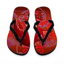 urban griffin bright red Flip Flops
