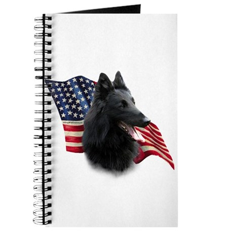 Belgian Sheepdog Flag Journal