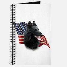 Belgian Sheepdog Flag Journal